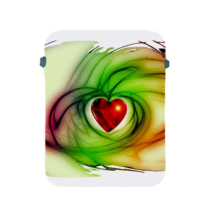 Heart Love Luck Abstract Apple iPad 2/3/4 Protective Soft Cases