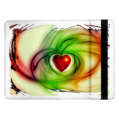 Heart Love Luck Abstract Samsung Galaxy Tab Pro 12 2  Flip Case