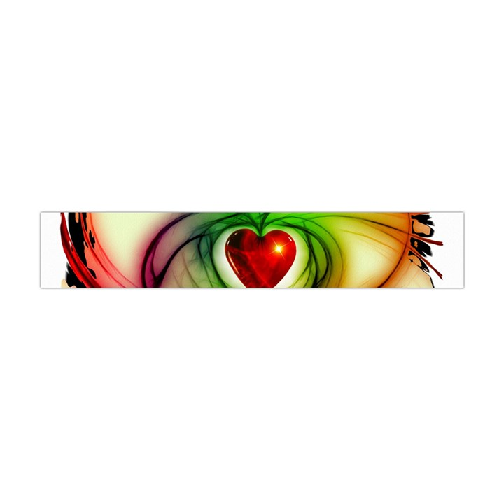 Heart Love Luck Abstract Flano Scarf (Mini)