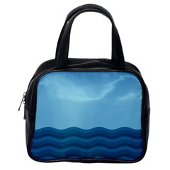 Making Waves Classic Handbag (one Side) by WensdaiAddamns