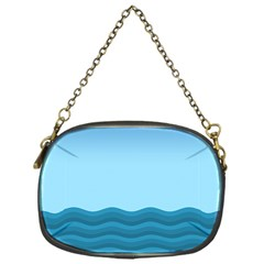 Making Waves Chain Purse (one Side) by WensdaiAmbrose