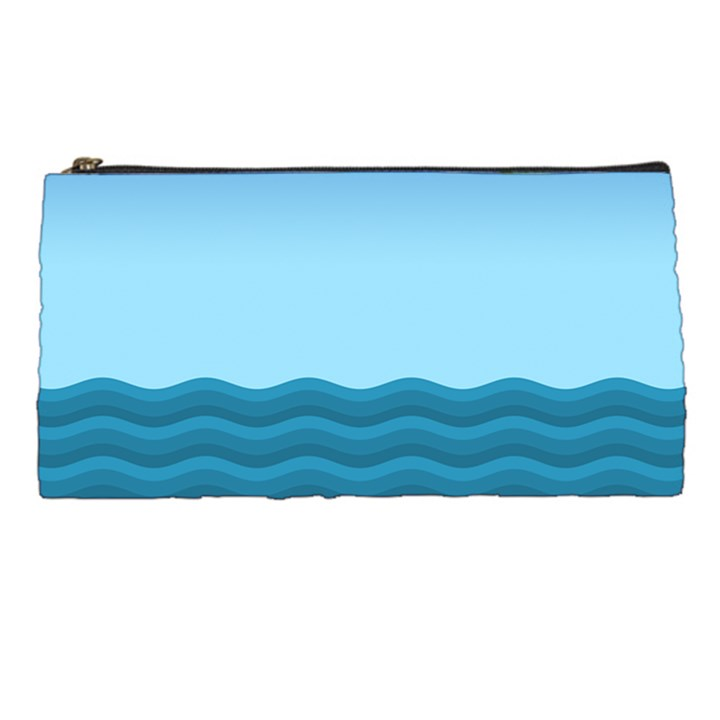 Making Waves Pencil Cases