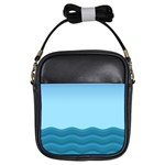 Making Waves Girls Sling Bag Front