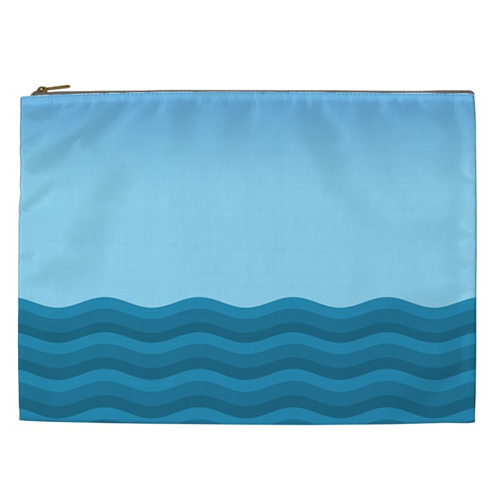 Making Waves Cosmetic Bag (XXL)