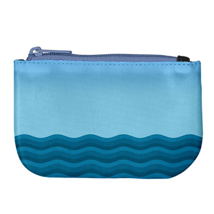 Making Waves Large Coin Purse