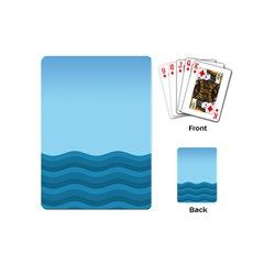 Making Waves Playing Cards (mini) by WensdaiAddamns