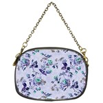 Vintage Roses Purple Chain Purse (One Side) Front