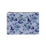 Vintage Roses Purple Cosmetic Bag (Medium) Front
