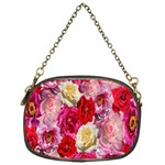 Bed Of Roses Chain Purse (One Side) Front