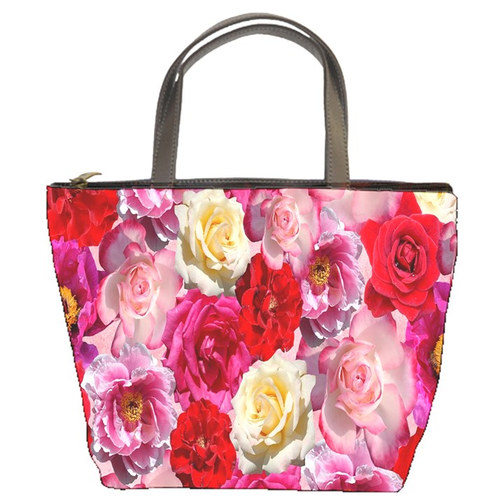Bed Of Roses Bucket Bag