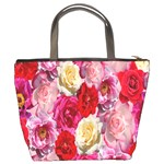 Bed Of Roses Bucket Bag Back