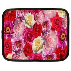 Bed Of Roses Netbook Case (xl)