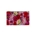 Bed Of Roses Cosmetic Bag (Small) Front