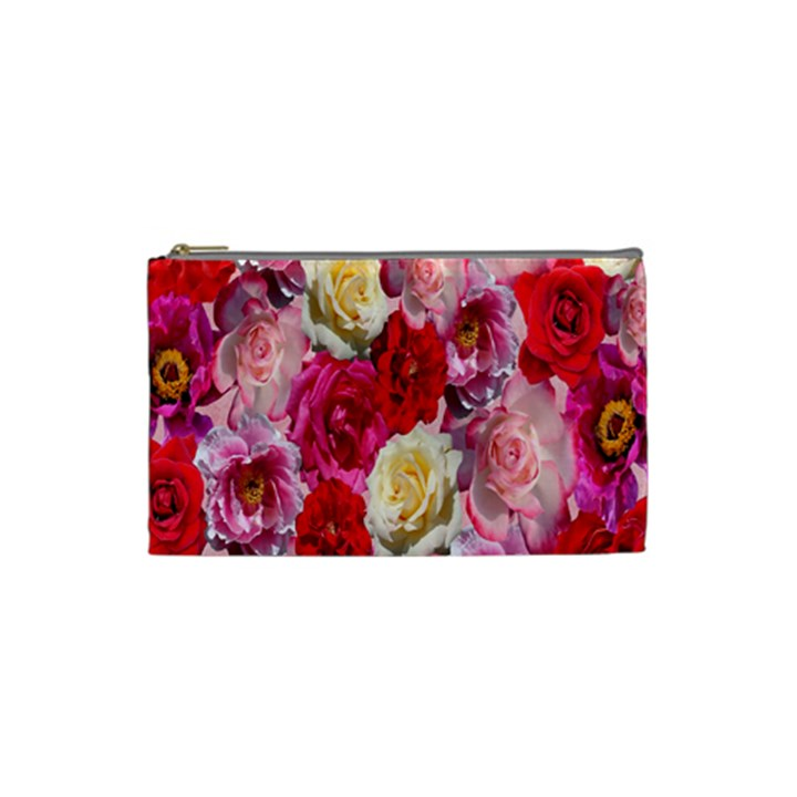 Bed Of Roses Cosmetic Bag (Small)