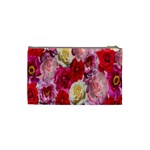 Bed Of Roses Cosmetic Bag (Small) Back