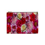 Bed Of Roses Cosmetic Bag (Medium) Front