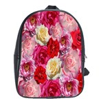 Bed Of Roses School Bag (Large) Front