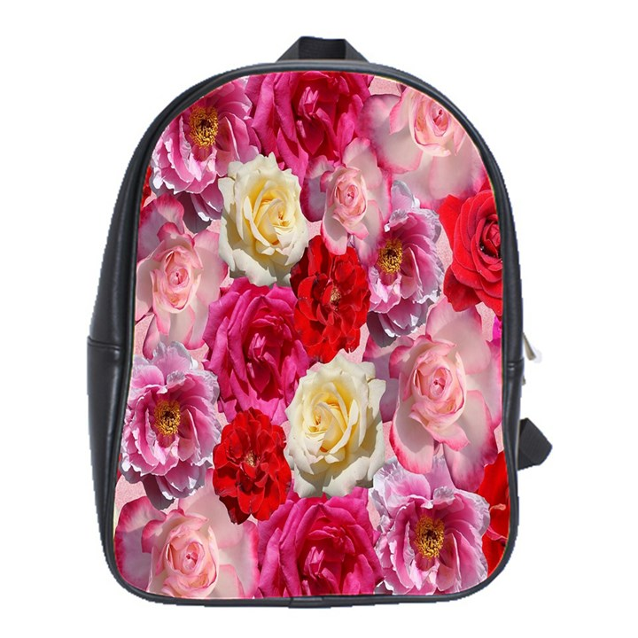 Bed Of Roses School Bag (Large)