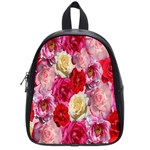 Bed Of Roses School Bag (Small) Front