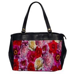 Bed Of Roses Oversize Office Handbag