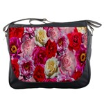 Bed Of Roses Messenger Bag Front