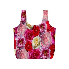 Bed Of Roses Full Print Recycle Bag (s)