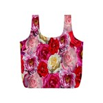 Bed Of Roses Full Print Recycle Bag (S) Front