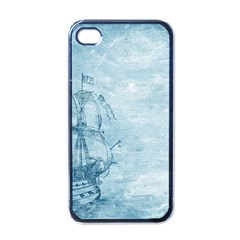 Sail Away   Vintage   Apple Iphone 4 Case (black) by WensdaiAddamns