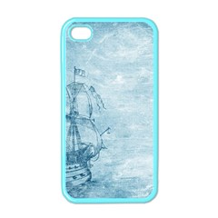 Sail Away   Vintage   Apple Iphone 4 Case (color) by WensdaiAddamns