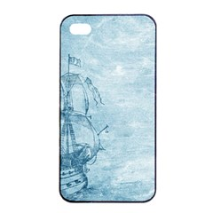 Sail Away   Vintage   Apple Iphone 4/4s Seamless Case (black) by WensdaiAddamns