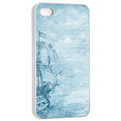 Sail Away   Vintage   Apple Iphone 4/4s Seamless Case (white) by WensdaiAddamns