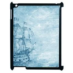 Sail Away   Vintage   Apple Ipad 2 Case (black) by WensdaiAddamns