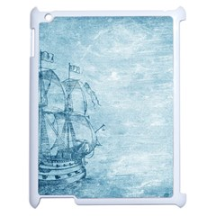 Sail Away   Vintage   Apple Ipad 2 Case (white) by WensdaiAddamns