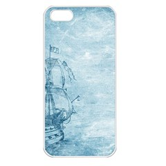 Sail Away   Vintage   Apple Iphone 5 Seamless Case (white) by WensdaiAddamns