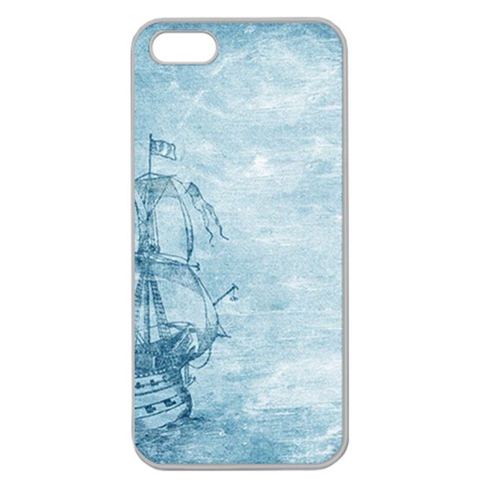Sail Away - Vintage - Apple Seamless iPhone 5 Case (Clear)