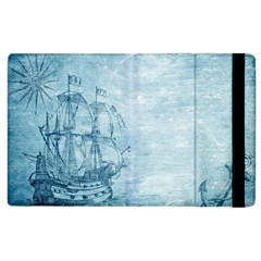 Sail Away   Vintage   Apple Ipad 3/4 Flip Case by WensdaiAddamns