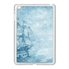 Sail Away   Vintage   Apple Ipad Mini Case (white) by WensdaiAddamns
