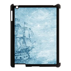 Sail Away   Vintage   Apple Ipad 3/4 Case (black) by WensdaiAddamns