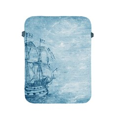 Sail Away   Vintage   Apple Ipad 2/3/4 Protective Soft Cases by WensdaiAddamns
