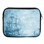 Sail Away - Vintage - Apple iPad 2/3/4 Zipper Cases Front