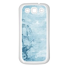 Sail Away   Vintage   Samsung Galaxy S3 Back Case (white) by WensdaiAddamns