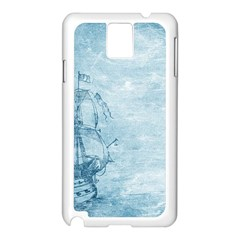 Sail Away   Vintage   Samsung Galaxy Note 3 N9005 Case (white) by WensdaiAddamns