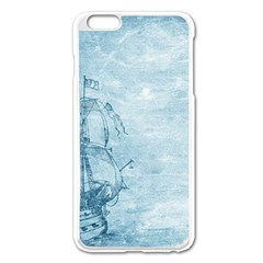 Sail Away   Vintage   Apple Iphone 6 Plus/6s Plus Enamel White Case by WensdaiAddamns