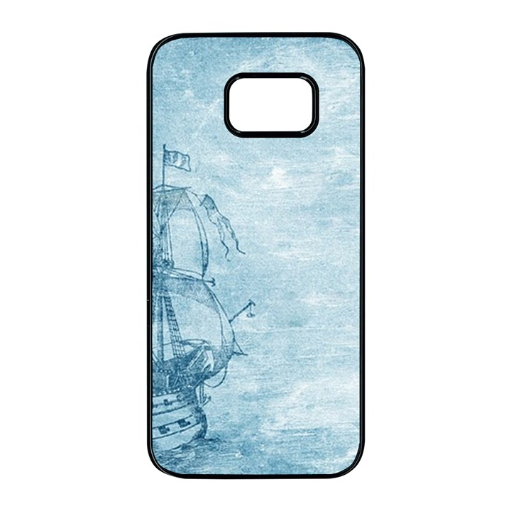 Sail Away - Vintage - Samsung Galaxy S7 edge Black Seamless Case
