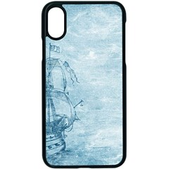 Sail Away   Vintage   Apple Iphone X Seamless Case (black) by WensdaiAddamns