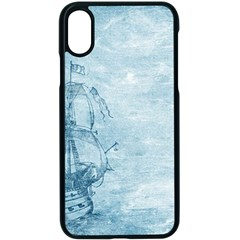 Sail Away   Vintage   Apple Iphone Xs Seamless Case (black) by WensdaiAddamns
