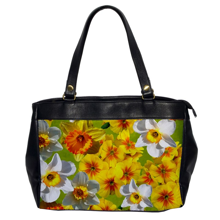 Daffodil Surprise Oversize Office Handbag