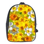 Daffodil Surprise School Bag (XL) Front