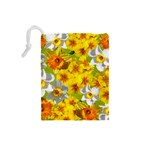 Daffodil Surprise Drawstring Pouch (Small) Back