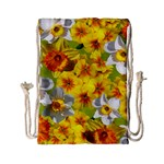 Daffodil Surprise Drawstring Bag (Small) Back